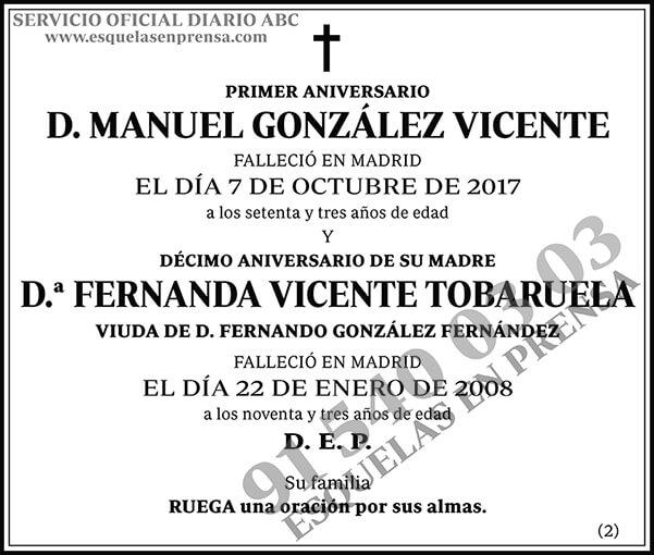 Manuel González Vicente